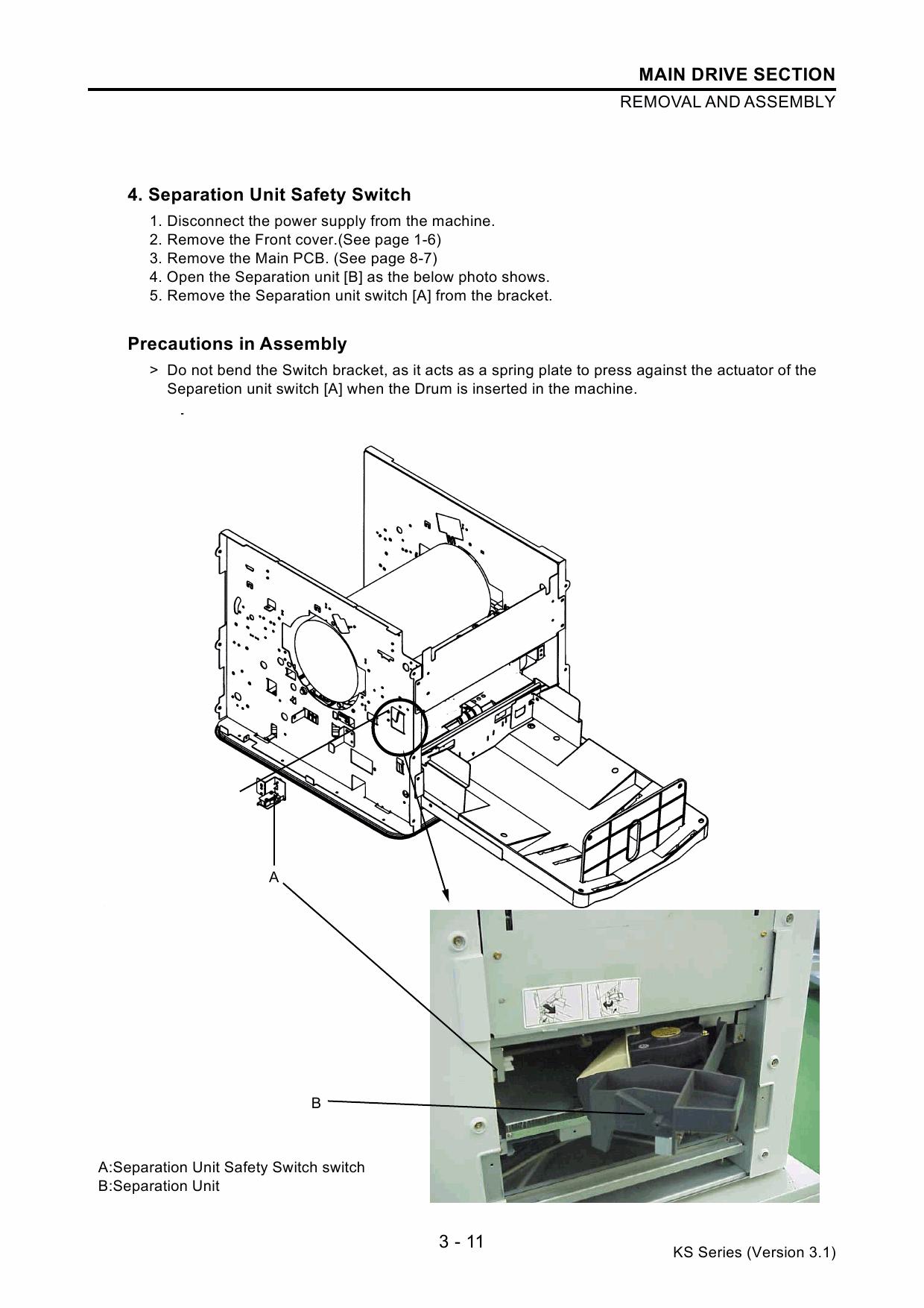 RISO KS 500 600 800 TECHNICAL Service Manual-2